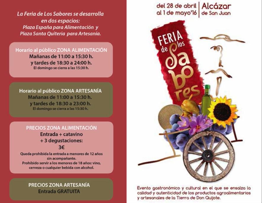 Feria de los Sabores del Quijote