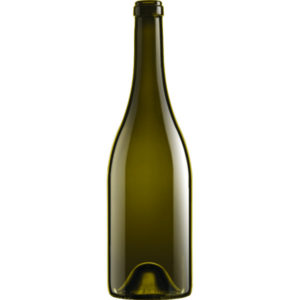 Botellas de vidrio Borgoña